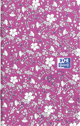 OXFORD Floral Notebook - 9x14cm - Soft Card Cover - Stapled - Ruled - 60 Pages - Assorted Colours - 400111055_1400_1553574036 - OXFORD Floral Notebook - 9x14cm - Soft Card Cover - Stapled - Ruled - 60 Pages - Assorted Colours - 400111055_2100_1553574021 - OXFORD Floral Notebook - 9x14cm - Soft Card Cover - Stapled - Ruled - 60 Pages - Assorted Colours - 400111055_2300_1553574030 - OXFORD Floral Notebook - 9x14cm - Soft Card Cover - Stapled - Ruled - 60 Pages - Assorted Colours - 400111055_1101_1559846592 - OXFORD Floral Notebook - 9x14cm - Soft Card Cover - Stapled - Ruled - 60 Pages - Assorted Colours - 400111055_1103_1559846594 - OXFORD Floral Notebook - 9x14cm - Soft Card Cover - Stapled - Ruled - 60 Pages - Assorted Colours - 400111055_1102_1559846597