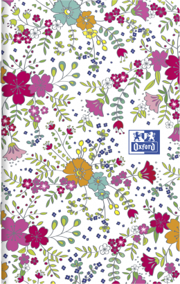 OXFORD Floral Notebook - 9x14cm - Soft Card Cover - Stapled - Ruled - 60 Pages - Assorted Colours - 400111055_1400_1553574036 - OXFORD Floral Notebook - 9x14cm - Soft Card Cover - Stapled - Ruled - 60 Pages - Assorted Colours - 400111055_2100_1553574021 - OXFORD Floral Notebook - 9x14cm - Soft Card Cover - Stapled - Ruled - 60 Pages - Assorted Colours - 400111055_2300_1553574030 - OXFORD Floral Notebook - 9x14cm - Soft Card Cover - Stapled - Ruled - 60 Pages - Assorted Colours - 400111055_1101_1559846592 - OXFORD Floral Notebook - 9x14cm - Soft Card Cover - Stapled - Ruled - 60 Pages - Assorted Colours - 400111055_1103_1559846594