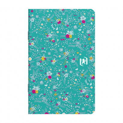 OXFORD Floral Notebook - 9x14cm - Soft Card Cover - Stapled - Ruled - 60 Pages - Assorted Colours - 400111055_1400_1594062098 - OXFORD Floral Notebook - 9x14cm - Soft Card Cover - Stapled - Ruled - 60 Pages - Assorted Colours - 400111055_1104_1593613484