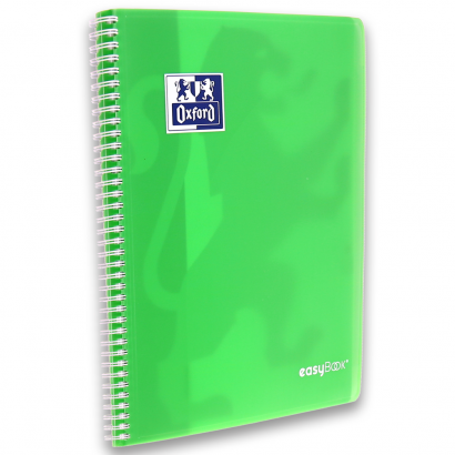 OXFORD easyBook® NOTEBOOK - 24x32cm - Polypro cover with pockets - Twin-wire - Seyès Squares- 160 pages - SCRIBZEE ® Compatible - Assorted colours - 400114564_1400_1553285409 - OXFORD easyBook® NOTEBOOK - 24x32cm - Polypro cover with pockets - Twin-wire - Seyès Squares- 160 pages - SCRIBZEE ® Compatible - Assorted colours - 400114564_1301_1576492119 - OXFORD easyBook® NOTEBOOK - 24x32cm - Polypro cover with pockets - Twin-wire - Seyès Squares- 160 pages - SCRIBZEE ® Compatible - Assorted colours - 400114564_1302_1576492123