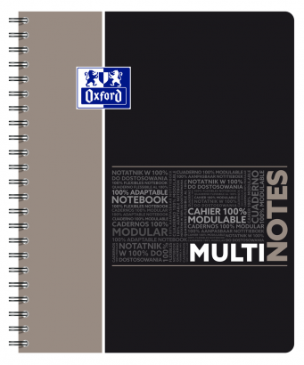 OXFORD ETUDIANTS Cahier MULTINOTES - A4+ - Couverture polypro - Double spirale - Ligné 7mm - 160 pages - Compatible SCRIBZEE® - Couleurs assorties - 400114580_1100_1553285282 - OXFORD ETUDIANTS Cahier MULTINOTES - A4+ - Couverture polypro - Double spirale - Ligné 7mm - 160 pages - Compatible SCRIBZEE® - Couleurs assorties - 400114580_2300_1553284678 - OXFORD ETUDIANTS Cahier MULTINOTES - A4+ - Couverture polypro - Double spirale - Ligné 7mm - 160 pages - Compatible SCRIBZEE® - Couleurs assorties - 400114580_1102_1553285279