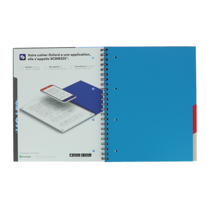 OXFORD ETUDIANTS Cahier MULTINOTES - A4+ - Couverture polypro - Double spirale - Ligné 7mm - 160 pages - Compatible SCRIBZEE® - Couleurs assorties - 400114580_1100_1553285282 - OXFORD ETUDIANTS Cahier MULTINOTES - A4+ - Couverture polypro - Double spirale - Ligné 7mm - 160 pages - Compatible SCRIBZEE® - Couleurs assorties - 400114580_2300_1553284678 - OXFORD ETUDIANTS Cahier MULTINOTES - A4+ - Couverture polypro - Double spirale - Ligné 7mm - 160 pages - Compatible SCRIBZEE® - Couleurs assorties - 400114580_1102_1553285279 - OXFORD ETUDIANTS Cahier MULTINOTES - A4+ - Couverture polypro - Double spirale - Ligné 7mm - 160 pages - Compatible SCRIBZEE® - Couleurs assorties - 400114580_1101_1553285286 - OXFORD ETUDIANTS Cahier MULTINOTES - A4+ - Couverture polypro - Double spirale - Ligné 7mm - 160 pages - Compatible SCRIBZEE® - Couleurs assorties - 400114580_1103_1553285290 - OXFORD ETUDIANTS Cahier MULTINOTES - A4+ - Couverture polypro - Double spirale - Ligné 7mm - 160 pages - Compatible SCRIBZEE® - Couleurs assorties - 400114580_1200_1553285293 - OXFORD ETUDIANTS Cahier MULTINOTES - A4+ - Couverture polypro - Double spirale - Ligné 7mm - 160 pages - Compatible SCRIBZEE® - Couleurs assorties - 400114580_1104_1553285297 - OXFORD ETUDIANTS Cahier MULTINOTES - A4+ - Couverture polypro - Double spirale - Ligné 7mm - 160 pages - Compatible SCRIBZEE® - Couleurs assorties - 400114580_1201_1553285301 - OXFORD ETUDIANTS Cahier MULTINOTES - A4+ - Couverture polypro - Double spirale - Ligné 7mm - 160 pages - Compatible SCRIBZEE® - Couleurs assorties - 400114580_2304_1562323387 - OXFORD ETUDIANTS Cahier MULTINOTES - A4+ - Couverture polypro - Double spirale - Ligné 7mm - 160 pages - Compatible SCRIBZEE® - Couleurs assorties - 400114580_2305_1562323405