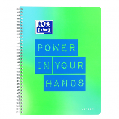 Oxford Limited Edition A4+ notebook - ruled with margin on the left and on the right-160 pages-90 gsm Optik Paper®-twin wire binding-4 hole punched-micro-perforated-SCRIBZEE® compatible-2 designs assorted - 400130124_1301_1574352177 - Oxford Limited Edition A4+ notebook - ruled with margin on the left and on the right-160 pages-90 gsm Optik Paper®-twin wire binding-4 hole punched-micro-perforated-SCRIBZEE® compatible-2 designs assorted - 400130124_1100_1574362909