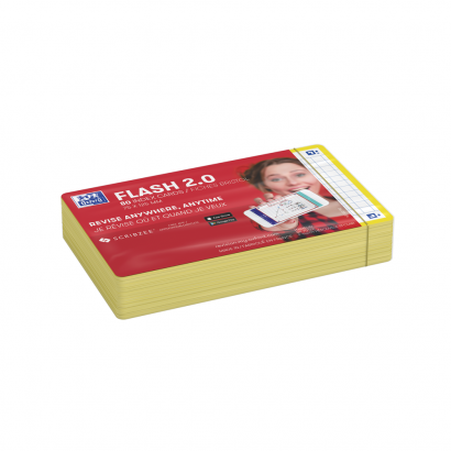 OXFORD FLASH 2.0 flashcards - 105x148mm - geruit 5mm - geel - pak 80 stuks - SCRIBZEE® Compatible - 400133871_1100_1573399165 - OXFORD FLASH 2.0 flashcards - 105x148mm - geruit 5mm - geel - pak 80 stuks - SCRIBZEE® Compatible - 400133871_2300_1573399169 - OXFORD FLASH 2.0 flashcards - 105x148mm - geruit 5mm - geel - pak 80 stuks - SCRIBZEE® Compatible - 400133871_2301_1573399166 - OXFORD FLASH 2.0 flashcards - 105x148mm - geruit 5mm - geel - pak 80 stuks - SCRIBZEE® Compatible - 400133871_2600_1573666258 - OXFORD FLASH 2.0 flashcards - 105x148mm - geruit 5mm - geel - pak 80 stuks - SCRIBZEE® Compatible - 400133871_2601_1575011798 - OXFORD FLASH 2.0 flashcards - 105x148mm - geruit 5mm - geel - pak 80 stuks - SCRIBZEE® Compatible - 400133871_2602_1578681441 - OXFORD FLASH 2.0 flashcards - 105x148mm - geruit 5mm - geel - pak 80 stuks - SCRIBZEE® Compatible - 400133871_1301_1575655024 - OXFORD FLASH 2.0 flashcards - 105x148mm - geruit 5mm - geel - pak 80 stuks - SCRIBZEE® Compatible - 400133871_1300_1573399174