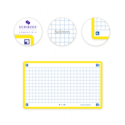 OXFORD FLASH 2.0 flashcards - 105x148mm - geruit 5mm - geel - pak 80 stuks - SCRIBZEE® Compatible - 400133871_1100_1573399165 - OXFORD FLASH 2.0 flashcards - 105x148mm - geruit 5mm - geel - pak 80 stuks - SCRIBZEE® Compatible - 400133871_2300_1573399169