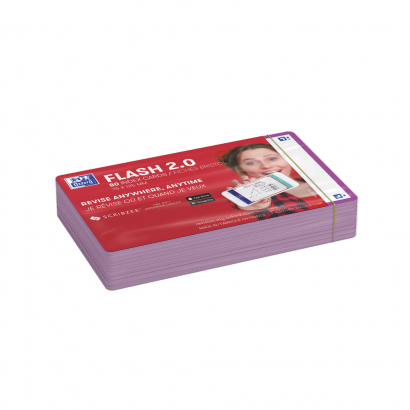 OXFORD FLASH 2.0 flashcards - blank with purple frame, 7,5 x 12,5 cm, pack of 80 - 400133890_1100_1573401144 - OXFORD FLASH 2.0 flashcards - blank with purple frame, 7,5 x 12,5 cm, pack of 80 - 400133890_2300_1573401149 - OXFORD FLASH 2.0 flashcards - blank with purple frame, 7,5 x 12,5 cm, pack of 80 - 400133890_2301_1573401151 - OXFORD FLASH 2.0 flashcards - blank with purple frame, 7,5 x 12,5 cm, pack of 80 - 400133890_2600_1573666308 - OXFORD FLASH 2.0 flashcards - blank with purple frame, 7,5 x 12,5 cm, pack of 80 - 400133890_2601_1575013367 - OXFORD FLASH 2.0 flashcards - blank with purple frame, 7,5 x 12,5 cm, pack of 80 - 400133890_2602_1578683360 - OXFORD FLASH 2.0 flashcards - blank with purple frame, 7,5 x 12,5 cm, pack of 80 - 400133890_1301_1575656941 - OXFORD FLASH 2.0 flashcards - blank with purple frame, 7,5 x 12,5 cm, pack of 80 - 400133890_1300_1573401153
