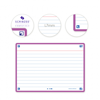 OXFORD FLASH 2.0 flashcards - 105x148mm - gelijnd - licht paars - pak 80 stuks - SCRIBZEE® Compatible - 400133914_1100_1573412761 - OXFORD FLASH 2.0 flashcards - 105x148mm - gelijnd - licht paars - pak 80 stuks - SCRIBZEE® Compatible - 400133914_2300_1573412768