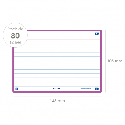 OXFORD FLASH 2.0 flashcards - 105x148mm - gelijnd - licht paars - pak 80 stuks - SCRIBZEE® Compatible - 400133914_1100_1573412761 - OXFORD FLASH 2.0 flashcards - 105x148mm - gelijnd - licht paars - pak 80 stuks - SCRIBZEE® Compatible - 400133914_2300_1573412768 - OXFORD FLASH 2.0 flashcards - 105x148mm - gelijnd - licht paars - pak 80 stuks - SCRIBZEE® Compatible - 400133914_2301_1573412763