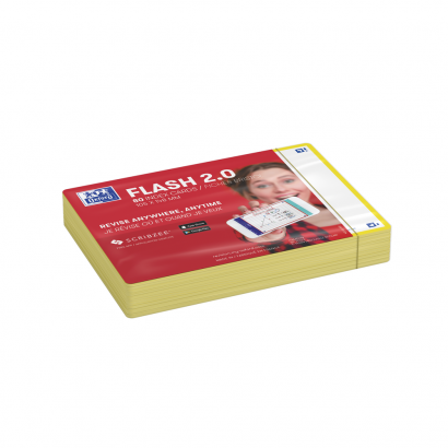 OXFORD FLASH 2.0 flashcards - 105x148mm - blanco - geel - pak 80 stuks - SCRIBZEE® Compatible - 400133939_1100_1573415800 - OXFORD FLASH 2.0 flashcards - 105x148mm - blanco - geel - pak 80 stuks - SCRIBZEE® Compatible - 400133939_2300_1573415805 - OXFORD FLASH 2.0 flashcards - 105x148mm - blanco - geel - pak 80 stuks - SCRIBZEE® Compatible - 400133939_2301_1573415807 - OXFORD FLASH 2.0 flashcards - 105x148mm - blanco - geel - pak 80 stuks - SCRIBZEE® Compatible - 400133939_2600_1575014845 - OXFORD FLASH 2.0 flashcards - 105x148mm - blanco - geel - pak 80 stuks - SCRIBZEE® Compatible - 400133939_2601_1573670243 - OXFORD FLASH 2.0 flashcards - 105x148mm - blanco - geel - pak 80 stuks - SCRIBZEE® Compatible - 400133939_2604_1582052090 - OXFORD FLASH 2.0 flashcards - 105x148mm - blanco - geel - pak 80 stuks - SCRIBZEE® Compatible - 400133939_1301_1582052097 - OXFORD FLASH 2.0 flashcards - 105x148mm - blanco - geel - pak 80 stuks - SCRIBZEE® Compatible - 400133939_2605_1582052092 - OXFORD FLASH 2.0 flashcards - 105x148mm - blanco - geel - pak 80 stuks - SCRIBZEE® Compatible - 400133939_1300_1573415811