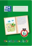 Oxford Lernsysteme Geschichtenheft - A4 - Lineatur 1G (linke Seite zur freien Gestaltung, rechte Seite zum Schreiben) - 16 Blatt - 90 g/m² OPTIK PAPER® - geheftet - Grün - 100050091_1100_1583237118