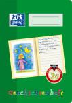 Oxford Lernsysteme Geschichtenheft - A4 - Lineatur 2G (linke Seite zur freien Gestaltung, rechte Seite zum Schreiben) - 16 Blatt - 90 g/m² OPTIK PAPER® - geheftet - Grün - 100050092_1100_1583237120