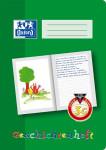 Oxford Lernsysteme Geschichtenheft - A4 - Lineatur 3G (linke Seite zur freien Gestaltung, rechte Seite zum Schreiben) - 16 Blatt - 90 g/m² OPTIK PAPER® - Grün - 100050093_1100_1583243548
