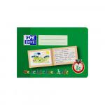 Oxford Lernsysteme Geschichtenheft - A5 quer - Lineatur 1G (linke Seite zur freien Gestaltung, rechte Seite zum Schreiben) - 16 Blatt - 90 g/m² OPTIK PAPER® - Grün - 100050103_1100_1559303458