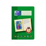 Oxford Lernsysteme Geschichtenheft - A5 - Lineatur 2G (linke Seite zur freien Gestaltung, rechte Seite zum Schreiben) - 16 Blatt - 90 g/m² OPTIK PAPER® - geheftet - Grün - 100050104_1100_1559303459