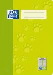 Oxford Schulheft - A4 - Lineatur 1 - 32 Blatt - 90 g/m² OPTIK PAPER® - geheftet - Hellgrün - 100050322_1100_1583237211