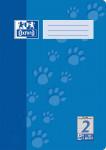 Oxford Schulheft - A4 - Lineatur 2 - 32 Blatt - 90 g/m² OPTIK PAPER® - geheftet - Blau - 100050323_1100_1583237212