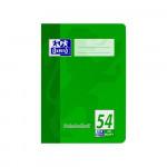 Oxford Vokabelheft - A5 - Lineatur 54 (3 Spalten) - 40 Blatt - 90 g/m² OPTIK PAPER® - geheftet - Rot und Grün - 100050390_1100_1583237317