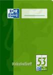 Oxford Vokabelheft - A6 - Lineatur 53 (2 Spalten) - 32 Blatt - 90 g/m² OPTIK PAPER® - geheftet - Rot und Grün - 100050398_1100_1583237336