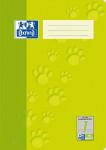 Oxford Schulheft - A4 - Lineatur 1 - 16 Blatt - 90 g/m² OPTIK PAPER® - geheftet - Hellgrün - 100050400_1100_1583237345