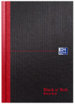 Oxford Black n' Red A5 Hardback Casebound Notebook Ruled 192 Pages Recycled Black -  - 100080430_1100_1561094861