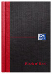 Oxford Black n' Red A6 Hardback Casebound Notebook Ruled with A-Z Index 192 Page Black -  - 100080431_1100_1561094868