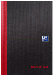 Oxford Black n' Red A5 Hardback Casebound Notebook Ruled with A-Z Index 192 Page Black -  - 100080491_1100_1561094905