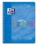 OXFORD HOMEWORK NOTEBOOK - 17x22cm - Polypro cover - Twin-wire - Seyès Squares - 148 pages - Assorted colours - 100100916_1100_1583237695