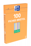 OXFORD Index Cards - A4 - Boxed - Unpunched - 5mm Squares - 100 Cards - Assorted - 100101021_1300_1595594784