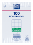 OXFORD Index Cards - A6 - Shrink-wrapped - Unpunched - 5mm Squares - 100 White - Cards - 100101324_1100_1595580199