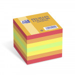 OXFORD Cube Refill - 9x9cm - Plain - 680 Sheets - Assorted Colours - 100103312_1300_1583238532