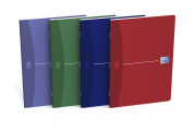 OXFORD Office Essentials Notebook - A5 - Soft Card Cover - Stapled - 5mm Squares - 96 Pages - Assorted Colours - 100103399_1400_1583238560