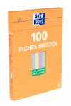 OXFORD Index Cards - A4 - Boxed - Unpunched - Plain - 100 Cards - Assorted - 100104411_1300_1595593732