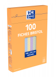 OXFORD Index Cards - A5 - Boxed - Hole-punched - 5mm Squares - 100 Assorted - Cards - 100104451_1300_1595585257