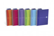 OXFORD Office My Colours Notebook - A5 - Polypropylene Cover - Twin-wire - Ruled - 180 Pages - SCRIBZEE® Compatible - Assorted Colours - 100104780_1400_1583239070
