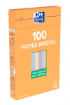 OXFORD Index Cards - 12,5x20cm - Boxed - Unpunched - 5mm Squares - 100 Cards - White - 100104817_1300_1595592718