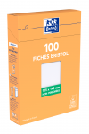 OXFORD Index Cards - A6 - Boxed - Unpunched - Plain - 100 Cards - White - 100105050_1300_1595582218
