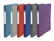 OXFORD CROSSLINE FILING BOX - 24X32 - 25 mm spine - Polypropylene - Assorted colors - 100200547_8000_1561110318