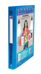 OXFORD POLYVISION RING BINDER - A4 - 30 mm spine - 4-O rings - Polypropylene - Translucent - Blue - 100201431_8000_1561555474