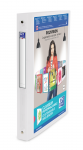 OXFORD POLYVISION RING BINDER - A4 - 30 mm spine - 4-O rings - Polypropylene - Translucent - Clear - 100201432_1300_1574076833