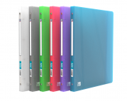 OXFORD HAWAI RING BINDER - 24X32 - 20 mm spine - 4-O rings - Polypropylene - Translucent - Assorted colors - 100202245_1400_1586054292