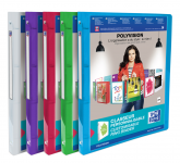 OXFORD POLYVISION RING BINDER - A4 - 20 mm spine - 4-O rings - Polypropylene - Translucent - Assorted colors - 100202273_1400_1573140677