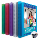 OXFORD POLYVISION DISPLAY BOOK REMOVABLE POCKETS - A4 - 30 Flexam pockets - Polypropylene - Assorted colors - 100205578_1400_1573140733