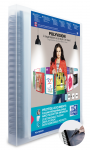 OXFORD POLYVISION DISPLAY BOOK REMOVABLE POCKETS - A4 - 30 Flexam pockets - Polypropylene - Clear - 100205580_8000_1561556188