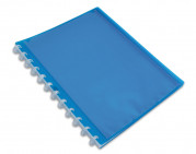 OXFORD POLYVISION DISPLAY BOOK REMOVABLE POCKETS - A4 - 20 Variozip pockets - Polypropylene - Assorted colors - 100205598_1301_1553602900