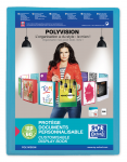 OXFORD POLYVISION DISPLAY BOOK - A4 - 60 pockets - Polypropylene- Blue - 100205901_8000_1577452236