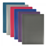 OXFORD CROSSLINE DISPLAY BOOK - A4 - 80 pockets - Polypropylene - Assorted colors - 100205930_8000_1572883527