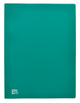 OXFORD INITIAL DISPLAY BOOK - A4 - 100 pockets - Polypropylene - Green - 100206007_8000_1564319780