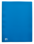 OXFORD INITIAL DISPLAY BOOK - A4 - 20 pockets - Polypropylene - Blue - 100206093_8000_1564317794