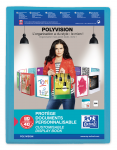 OXFORD POLYVISION DISPLAY BOOK - A4 - 40 pockets - Polypropylene - Blue - 100206231_8000_1561565114