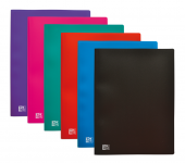OXFORD INITIAL DISPLAY BOOK - A4 - 40 pockets - Polypropylene - Assorted colors - 100206240_8000_1577452357